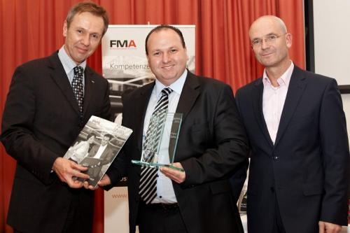 Feierliche Verleihung des FM-Ausbildungspreises 2010