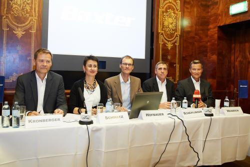 Baxter-Investments in Österreich sichern Standorte in Wien und Orth/Donau nachhaltig ab