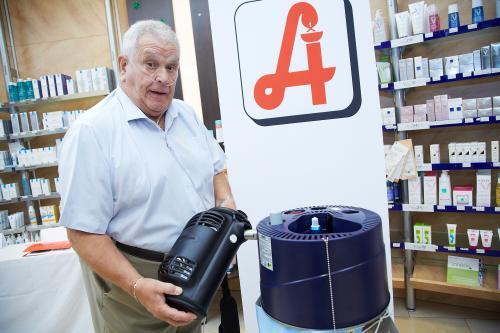 Apotheke: Sauerstofftankstelle für COPD-Patienten