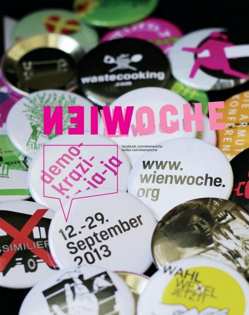 WIENWOCHE 2013: Präsentation des Programms