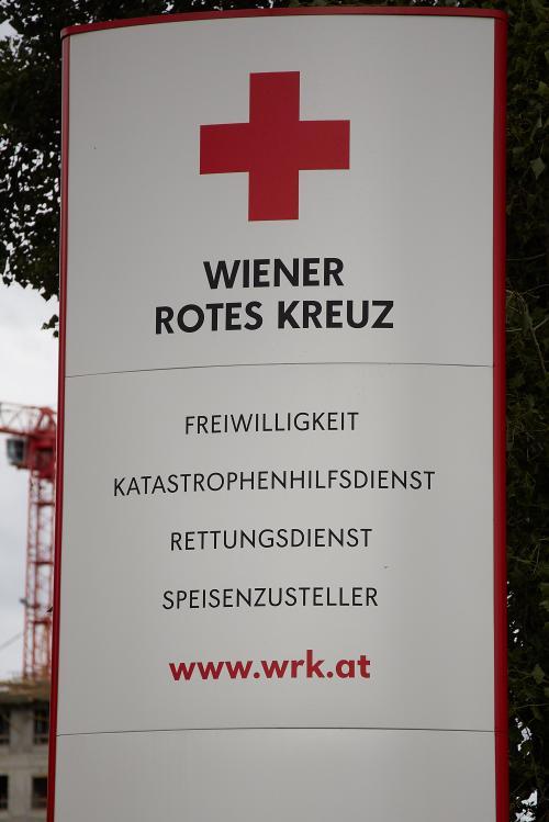Nachbar in Rot: Neuer Rotkreuz-Standort in Floridsdorf
