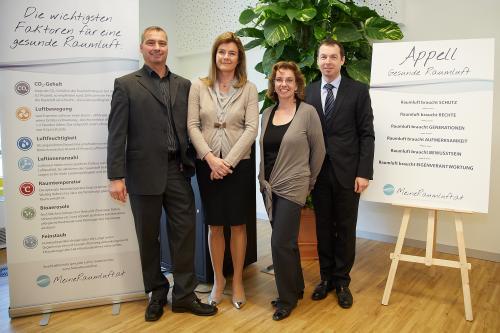 Präsentation der Ergebnisse: Raumluftqualität in Österreichs Büros