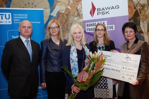 Verleihung des BAWAG P.S.K. Frauenpreises