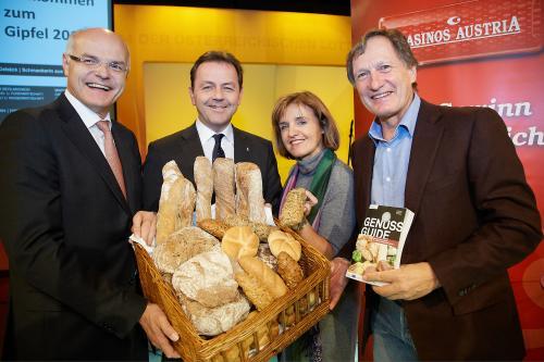 Genuss Guide 2014 - 10 Jahre im Zeichen des Genusses – Jubiläumsausgabe mit Brot und Gebäck Spezial
