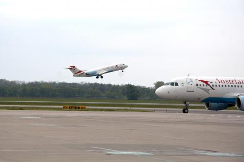 Vorfeld des Flughafen Wien (VIA - Vienna International Airport)